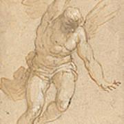 A Flying Angel Art Print