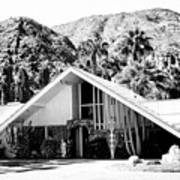 A Frame Bw Palm Springs Art Print
