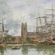 A French Port Art Print