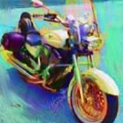 A Friends Ride Art Print