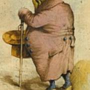 A Frog In An Overcoat Art Print