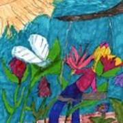 A Garden Adventure Art Print