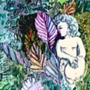 A Garden Muse Art Print