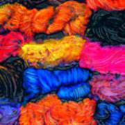 A Garden Of Yarn Art Print