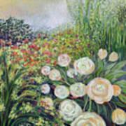 A Garden Romance Art Print