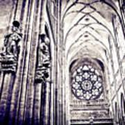 A Gothic Church Art Print