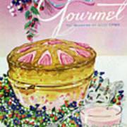 A Gourmet Cover Of A Souffle Art Print