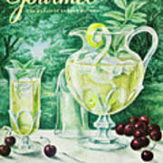 A Gourmet Cover Of Glassware Art Print