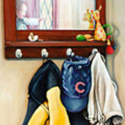 A Grandsons Prized Possessions Cubs Art Print