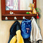 A Grandsons Prized Possessions Texas Art Print