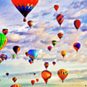 A Great Day To Fly Art Print