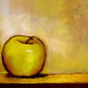 A Green Apple Art Print