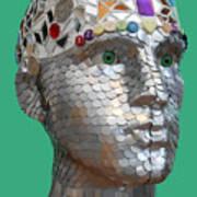 A Head Full Of Shattered Dreams Art Print