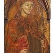 A Holy Bishop Art Print
