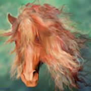 A Horse Called Copper Art Print