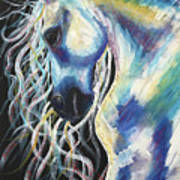 A Horse In My Keeping ... Art Print