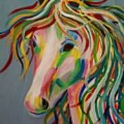 A Horse Of A Different Color Art Print