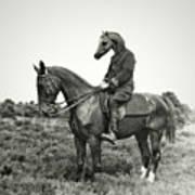 A Horse Ride Art Print