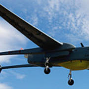A Hunter Joint Tactical Unmanned Aerial Vehicle Art Print