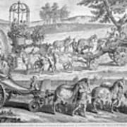 Chariot Of Apollo Art Print