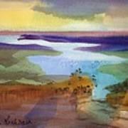 A Journey Through Water Art Print