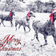A Joyful Christmas Art Print