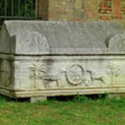 A Knight's Tomb Art Print