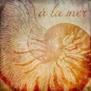 A La Mer Nautilus Art Print