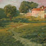 A Landscape In Vicinity Of Strijigorod Art Print