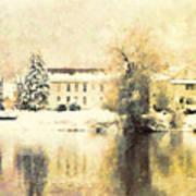 A Late Winter Xvi Art Print