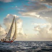 A Life At Sea Art Print