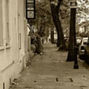 A London Street I Art Print