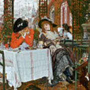 A Luncheon Print by Tissot