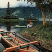 A Magic Moment On The Island Of Bali Art Print