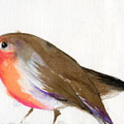 A Magical Little Robin Called Wisp Art Print