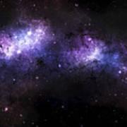 A Massive Nebula Covers A Huge Region Print by Justin Kelly