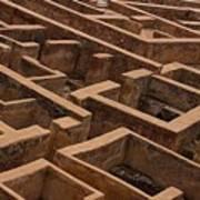 A Maze Life Is A Maze Art Print