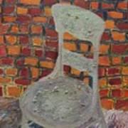 A Meeting Chair Art Print