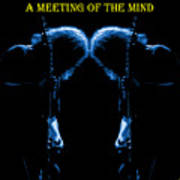 A Meeting Of The Blue Mind Art Print