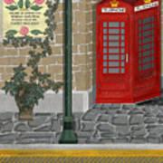 A Merry Old Corner In London Art Print