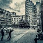 A Moment In Southwark, London. Art Print