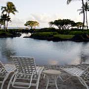 A Morning In Kauai Hawaii Print by Susan Stone