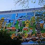 A Mural On The San Antonio Riverwalk Art Print
