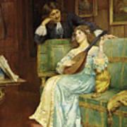 A Musical Interlude Art Print