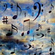 A Musical Storm 3 Art Print