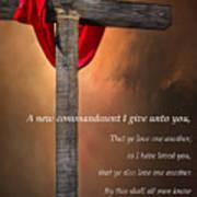 A New Commandment  Art Print