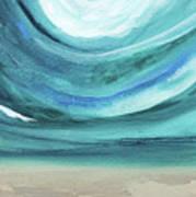 A New Start Wide- Art By Linda Woods Art Print