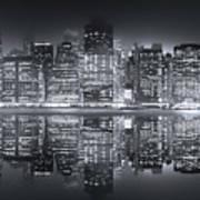 A New York City Night Art Print