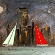 A New York Sail Art Print