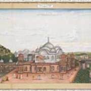 A Panoramic View Of Alwar Art Print